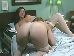 Sexy lesbo nurse dildos other nurse in hospital